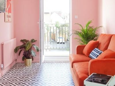 您将爱上这11种粉红色和红色北欧风内饰