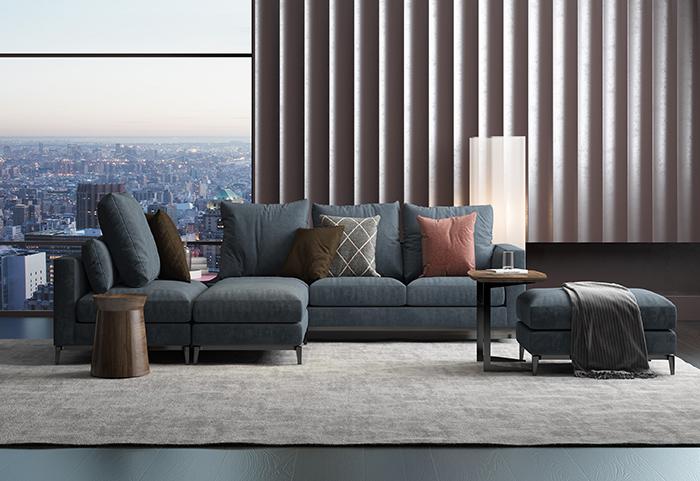 威洛斯家具教您正确的沙发选购方法