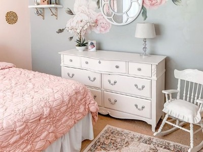 威洛斯这些粉红色的孩子们的卧室想法比棉花糖甜