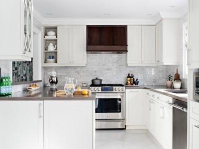如何使白色厨房空间达到预算-威洛斯