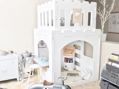 没有堡垒,儿童游戏室的想法就无法完成