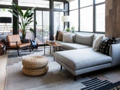 6个始终有效的客厅布局理念,不影响您的空间